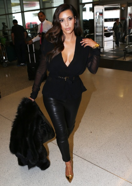 Kim-Kardashian-leather-pants